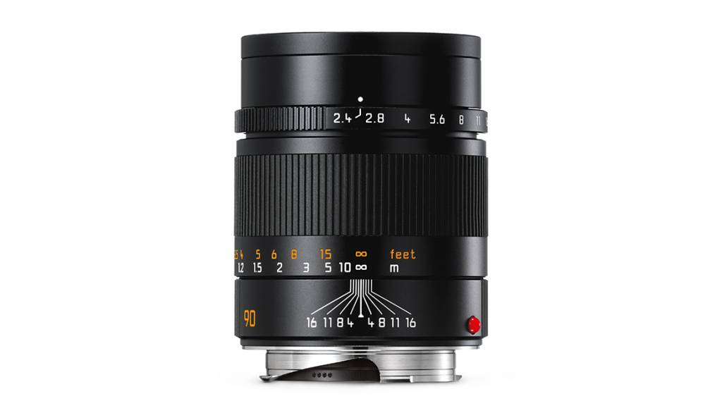 Leica SUMMARIT-M 90mm f/2.4, black