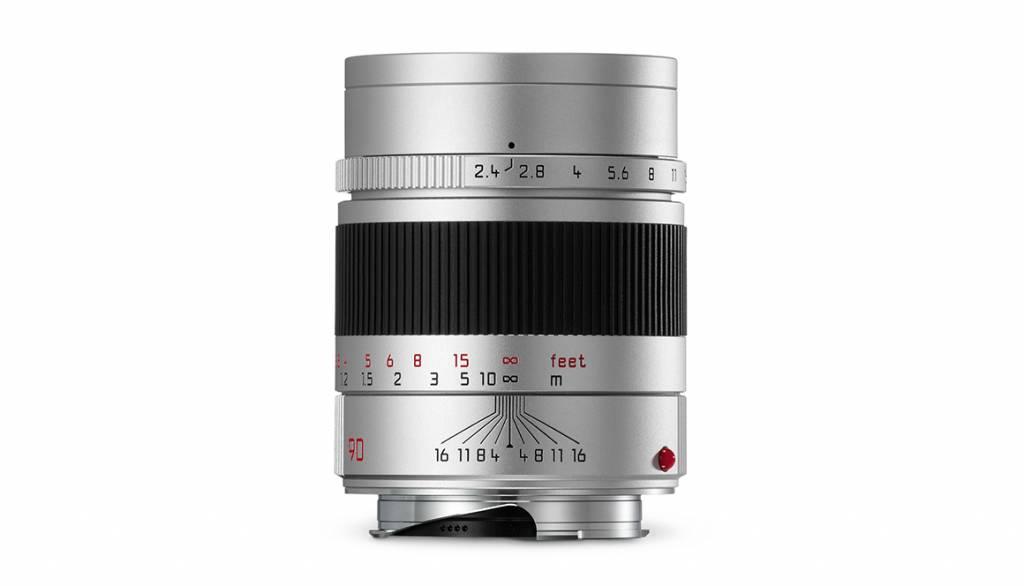 Leica SUMMARIT-M 90mm f/2.4, silver