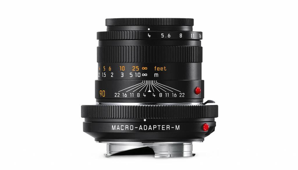 Leica MACRO SET- M 90mm f/4, Angle Finder M, Macro-Adapter M, black