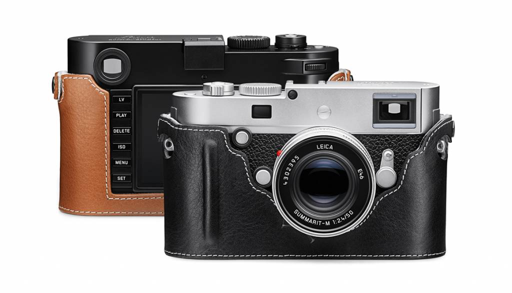 Leica Camera Protector, M/M-P (Typ 240), leather, black
