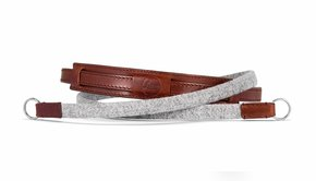 Leica Leica Neck Strap Lifestyle, leather/fabric, grey