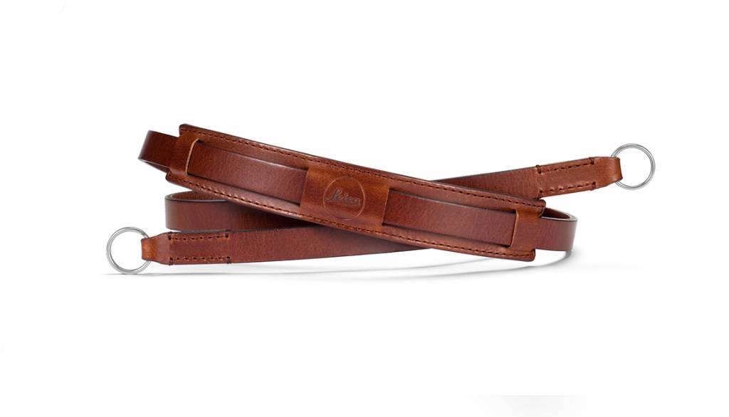 Leica Neck Strap Vintage, CL, leather, brown