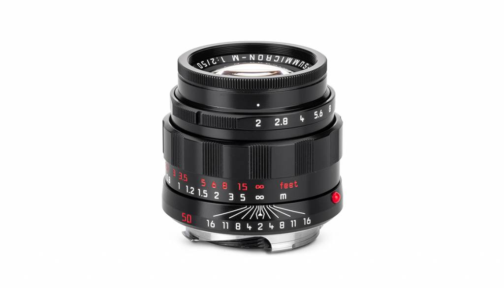 "Leica APO-SUMMICRON-M 50mm f/2 ASPH ""LHSA Edition"", black"