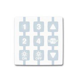 Nice Handzender Niceway WM004G 4-kanaals