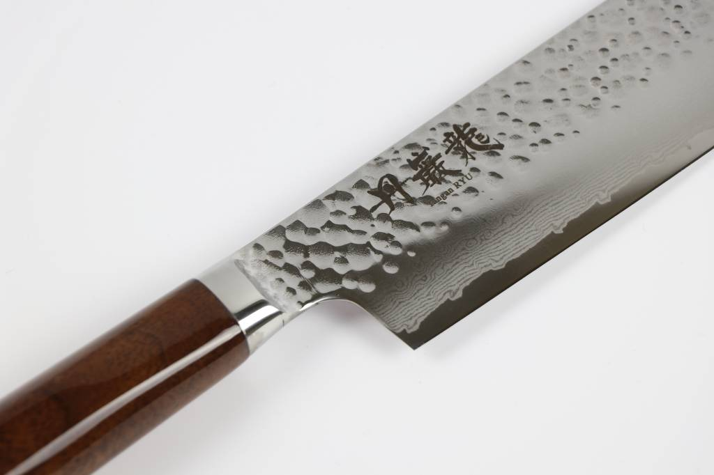 RYUSEN TANGANRYU Walnut Nakiri 165 mm TG 705