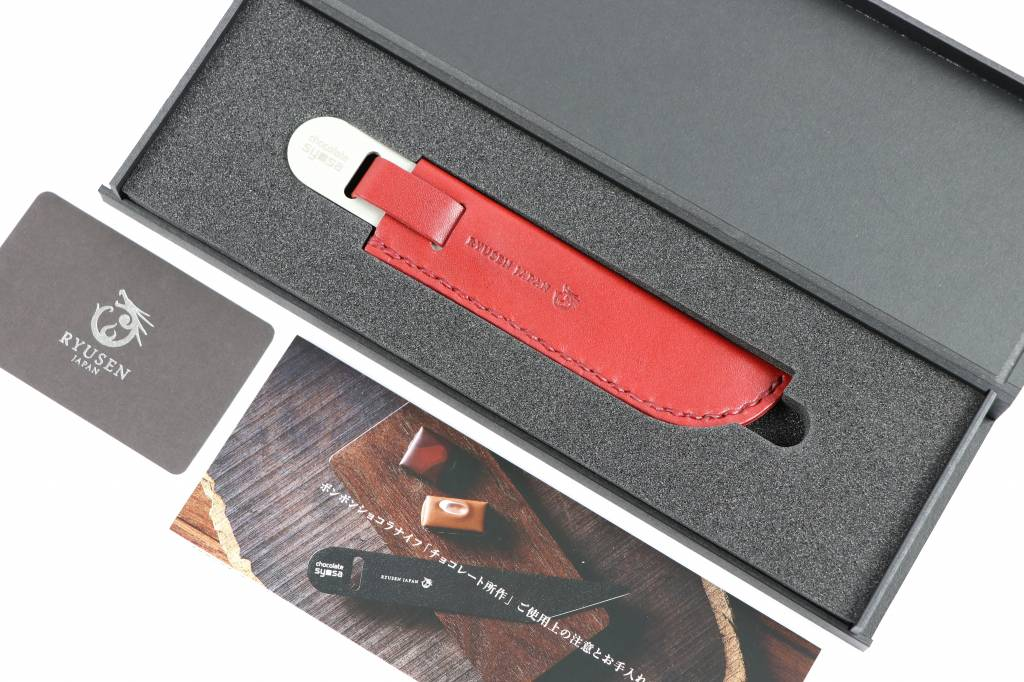 Ryusen Chocolate Knife Silver CS-302