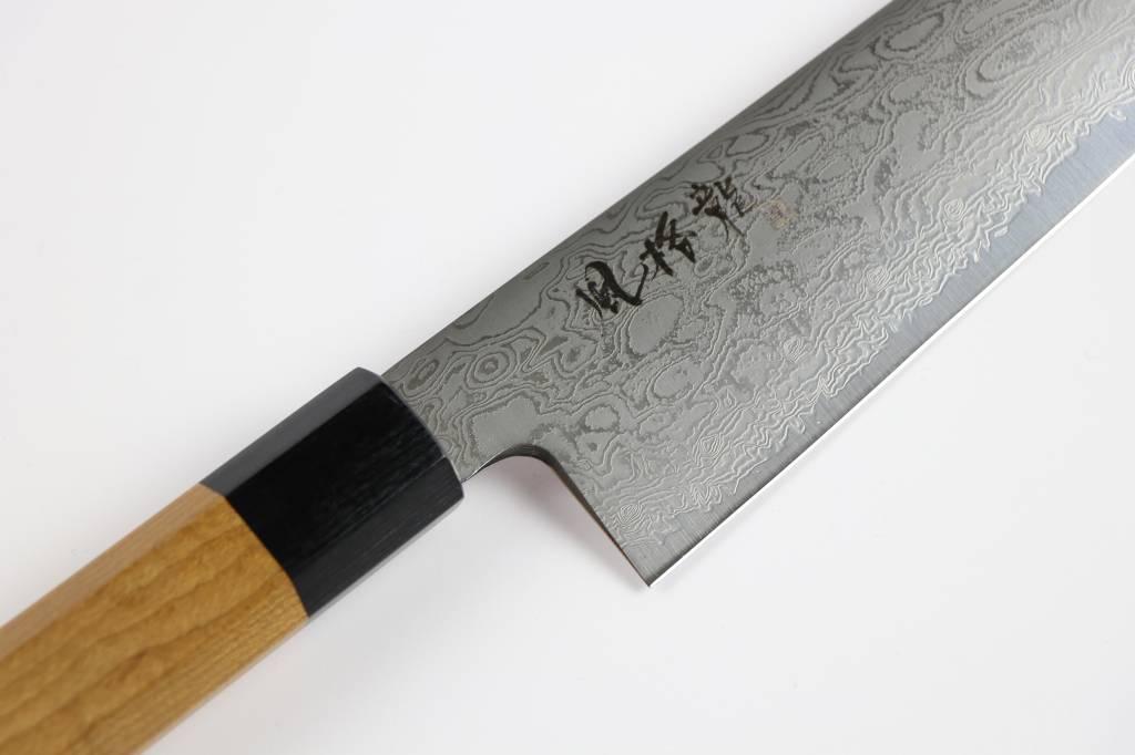 RYUSEN FUKAKURYU Maple Santoku 175 mm FK-112