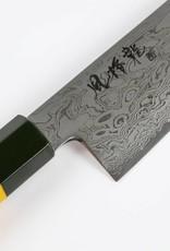 RYUSEN Fukakuryu Yellow Santoku 175 mm FK-112