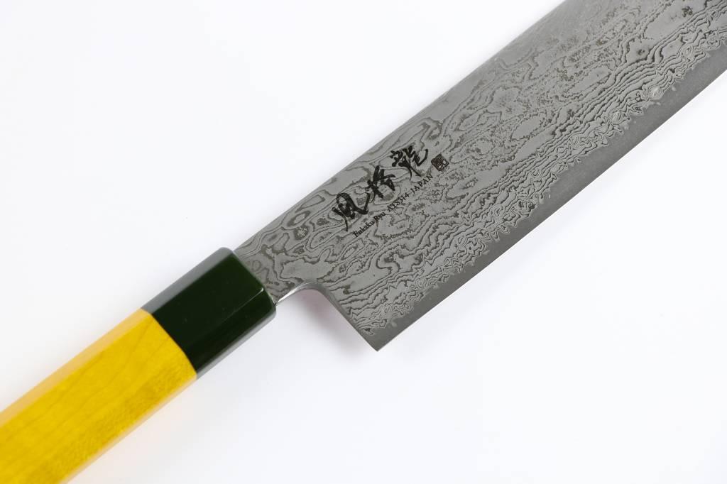 Ryusen Fukakuryu Yellow Nakiri 175 mm FK-113
