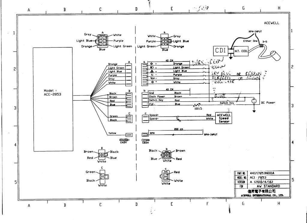 ACE-2853 AS mit Alu Gehäuse schwarz - Motparts