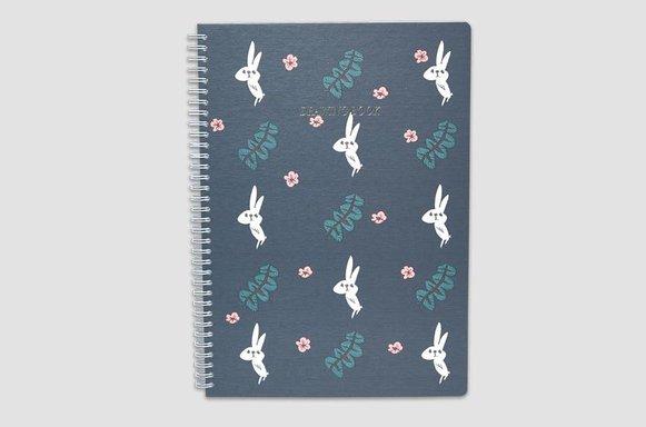 """Zeichenbuch """"Flower Rabbit"""""""