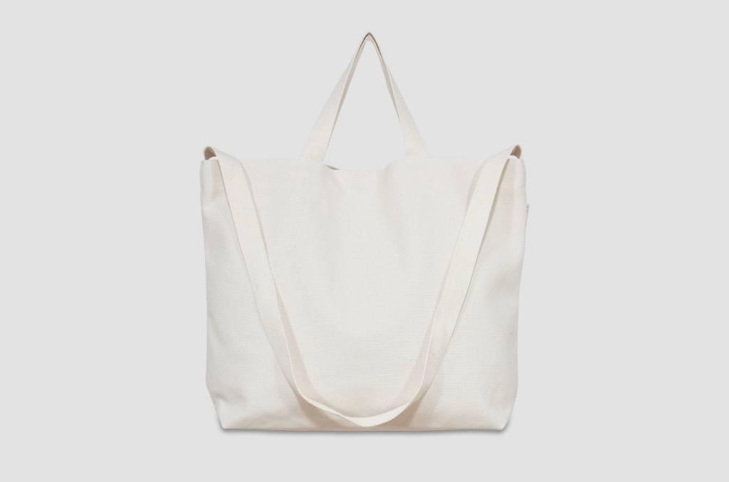 "42Avenue Große  Canvas Tote Bag ""ivory"""