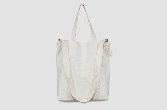 """Kleine Canvas Bag """"ivory"""""""
