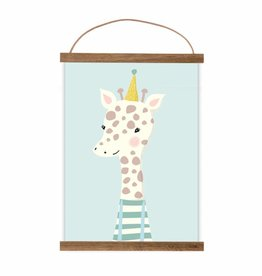 Poster Kleine Giraffe