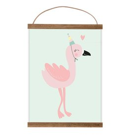 Poster Frieda Flamingo