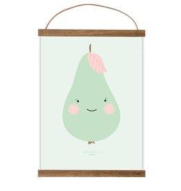 Poster Kleine Birne