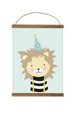 Poster für's Kinderzimmer - Wolke rosa - Copy