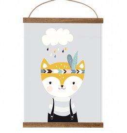 Poster Kleiner Fuchs