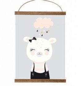 Poster Fräulein Bär