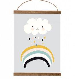 Poster Kleine Wolke