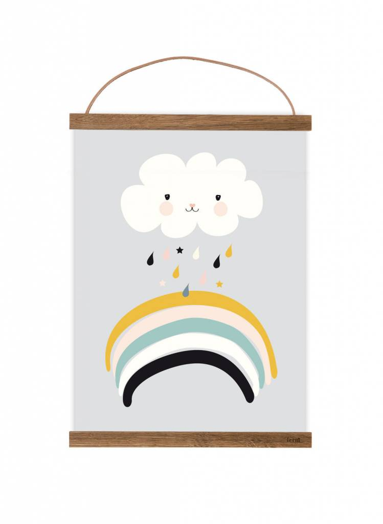 Poster für's Kinderzimmer - Kleine Wolke