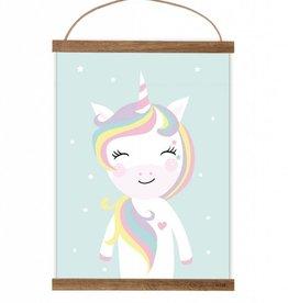 Poster Little Miss Unicorn