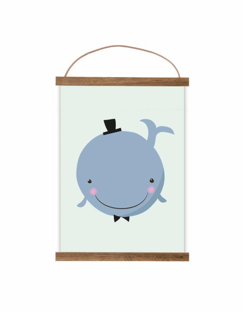 Poster für's Kinderzimmer-Herr von Wal