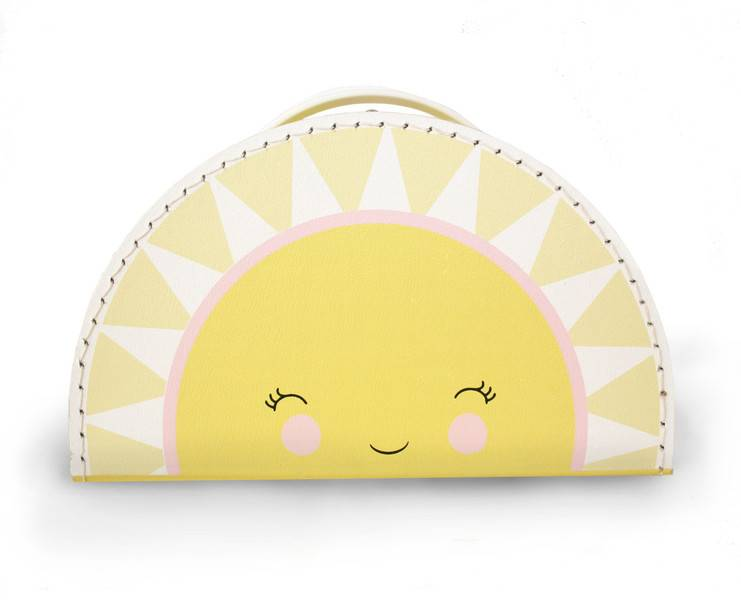 Kinderkoffer Sonne- Design by Mimirella