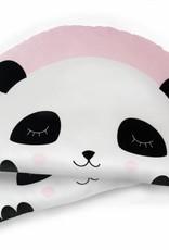 Kissen Panda rosa-für gemütliche Kuschelstunden