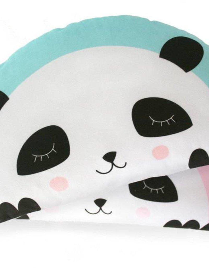 Kissen Panda mint-für gemütliche Kuschelstunden  - Copy