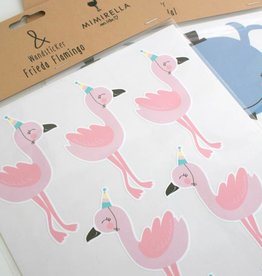 Wandsticker Frieda Flamingo