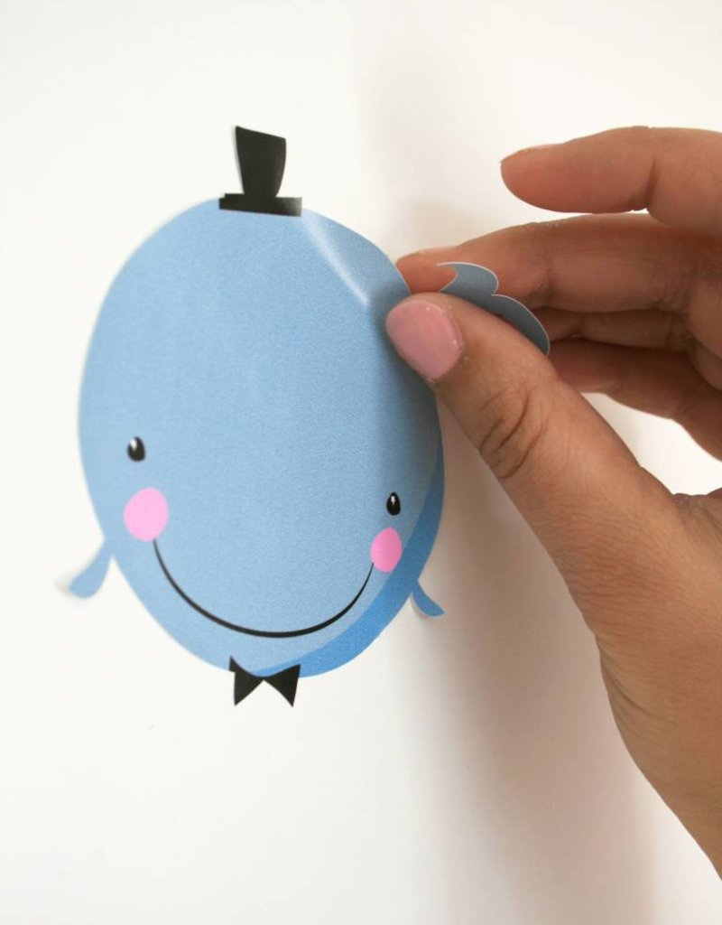 WandstickerHerr von Wal- für tolle Akzente an  euren Wänden