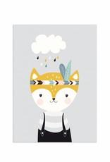 Poster für's Kinderzimmer - Kleiner Fuchs