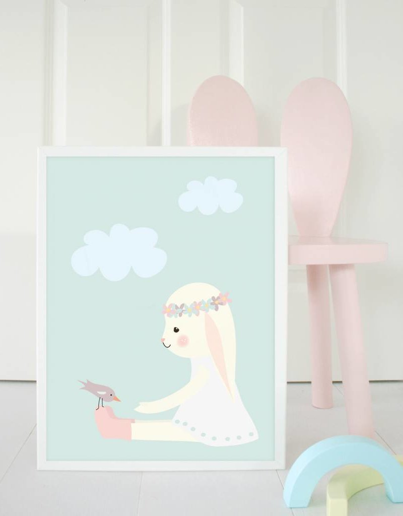 Poster für\'s Kinderzimmer - Mimirella aus Liebe