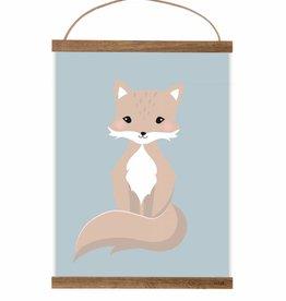Poster Kleiner Fuchsjunge