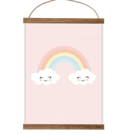 "Poster ""happy rainbow"""