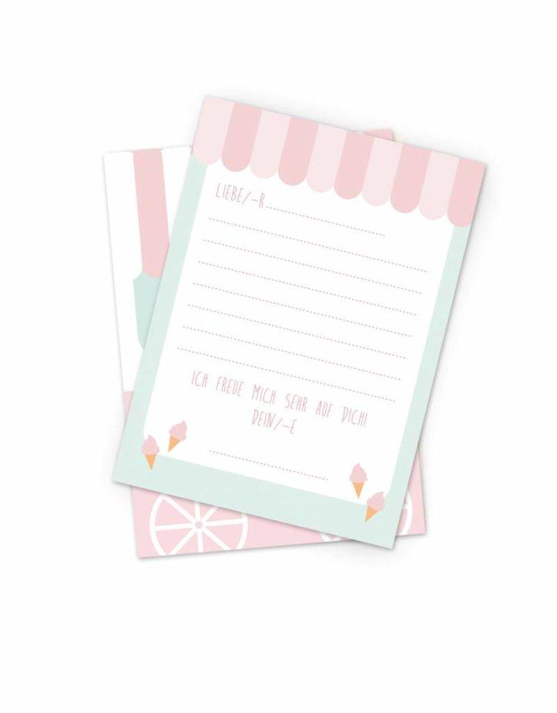 Einladungsarten Set für eure nächste Geburtstagsparty