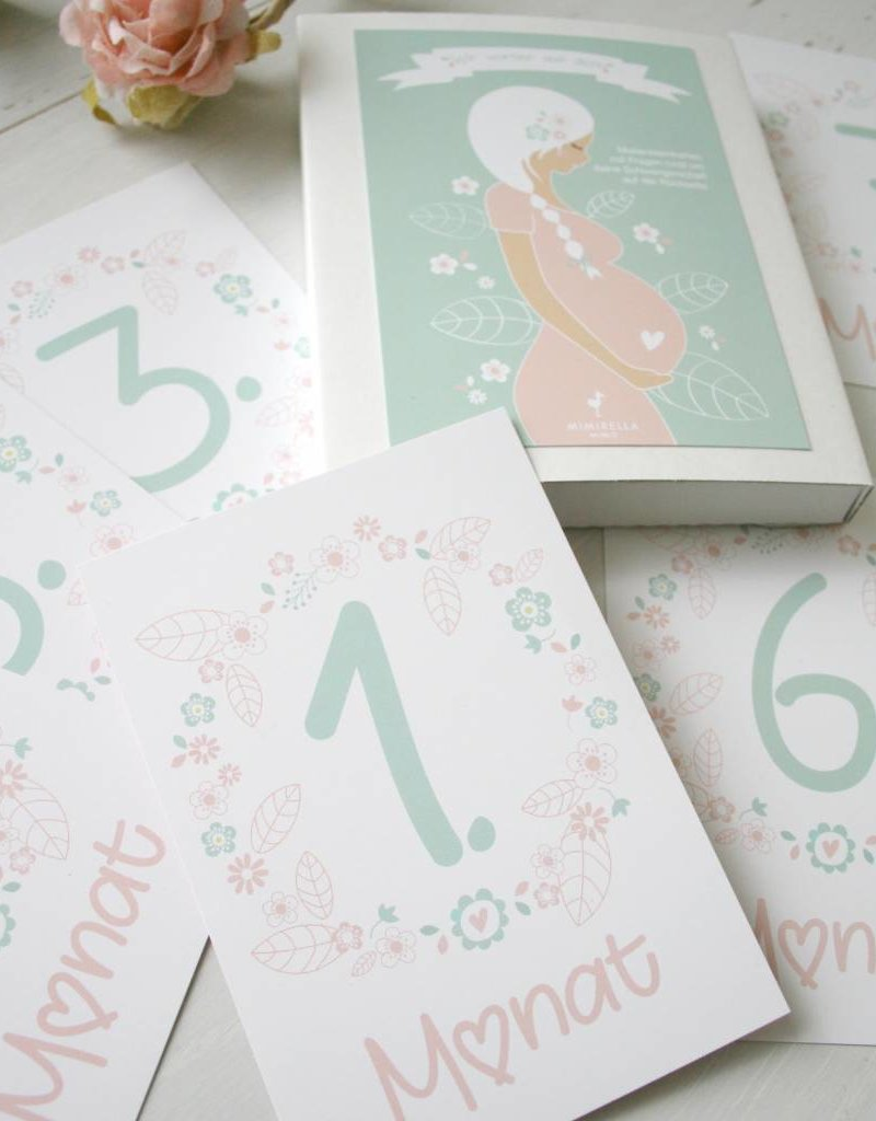 Milestonecards for your pregnancy