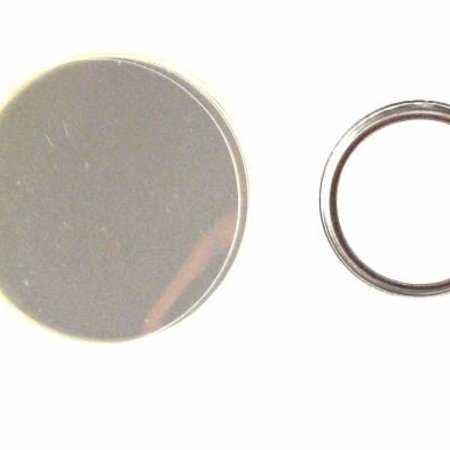 Button parts, pinned back, 25mm (1 inch)
