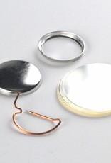 Button Onderdelenset, speld, 25mm (1 inch)