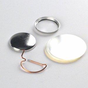 Button Onderdelen, speld, 25mm (100 sets)