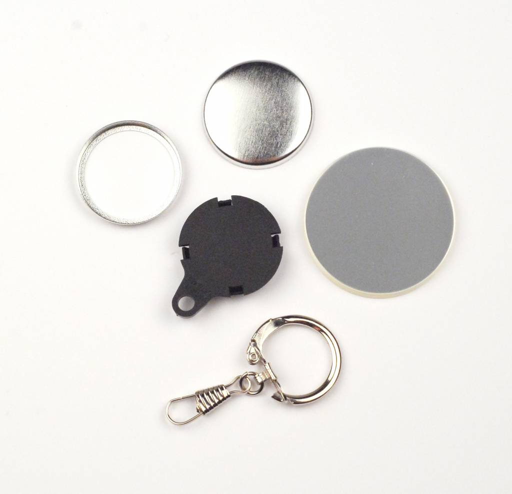 Key Hanger Button parts 25mm (1 inch)