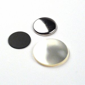 Flatback Button parts 25mm (1 inch)