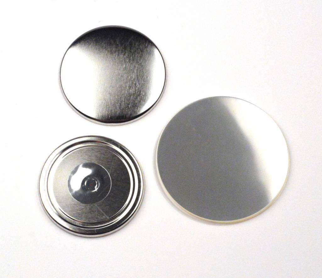 Magneetbutton onderdelensets 56mm (2 1/4 inch)