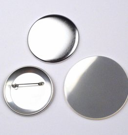 Button Onderdelenset, speld, 56mm (2 1/4 inch)