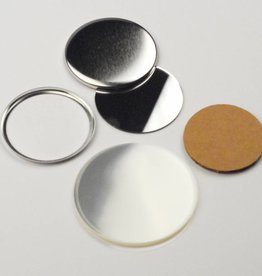Mirror Button parts 56mm (2 1/4 inch)