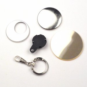 Sleutelhanger button onderdelensets 38mm (1 1/2 inch)