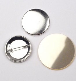 Button Onderdelenset, speld, 38mm (1 1/2 inch)