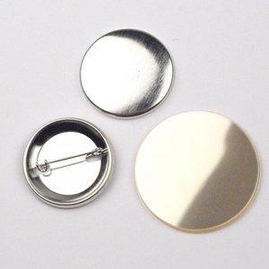 Button Onderdelenset, speld, 38mm (1 1/2 inch)