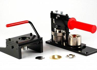 Bundel: Buttonmachine + Cirkelsnijder